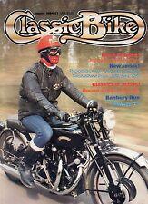 Classic Bike Aug 84    350cc AJS 38/7R   1,000Vincent Black Shadow