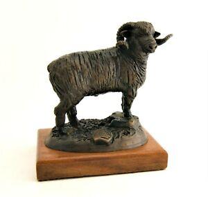 West Texas Sculpture Don Bowen Bronze Sheep United Way 1993