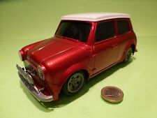 VINTAGE PLASTIC DICKIE MORRIS MINI COOPER 1:18 - RARE SELTEN - GOOD  FRICTION