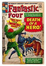 FANTASTIC FOUR #32 (11/64)--VG- / Stan Lee-script, Jack Kirby-art/cover^