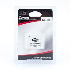 INOV 8 NB-6L Canon CA6L batería de la Cámara