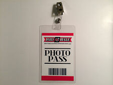 Spiderman Peter Parker Daily Bugle Photo Pass Badge ID Card Costume Cosplay Prop