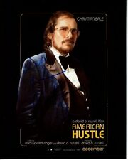 CHRISTIAN BALE Signed Autographed AMERICAN HUSTLE IRVING ROSENFELD Photo
