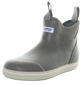 Xtratuf Women's Ankle Deck Waterproof Boots Taupe