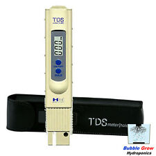 HM DIGITAL TDS-3 METER WATER QUALITY TESTER THERMOMETER PPM HYDROPONICS AQUARIUM