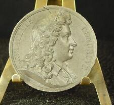 Médaille grès XIX Gulielmus Congreve  Medal