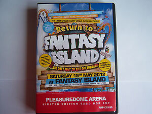 UPRISING - 19.5.12 - FANTASY ISLAND, SKEGNESS, PLEASUREDOME ARENA -   6 CD PACK