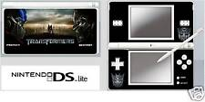 Nintendo DS or DS Lite TRANSFORMERS Skin Sticker / U.K.