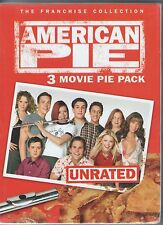 AMERICAN PIE + AMERICAN PIE 2 + AMERICAN WEDDING new 3 dvd ACTION COMEDY BOX SET