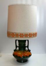 70er Jahre XXL TISCHLAMPE  TISCHLEUCHTE   Keramik / stunning XXL table lamp 70s