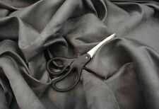 """Suede  Upholstery solid Micro faux  58"""" Wide Charcoal Drapery Fabric by the yard"""