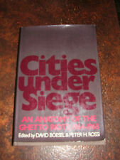 Cities Under Siege Ghetto Riots 1964-68 Boesel & Rossi