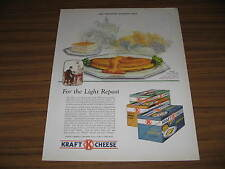 1928 Vintage Ad Cheese Omelet made with Kraft Cheese American,Brick Chicago,IL