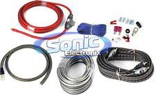 Rockford Fosgate RFK4X Complete 4 Gauge Amplifier/Amp Installation Wiring Kit