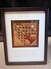Tree of Life quilt shadow box by Spiritual Harvest made in China