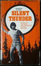 Silent Thunder Aboriginal Native Movie Tie In Palmer Anderson 1975 Out Of Print!