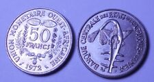 WEST AFRICAN STATES 50 Francs 1972 FAO  UNC