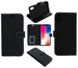 For LG K40 Phone Case, Cover, Wallet, Slots, PU Leather / Gel - Black