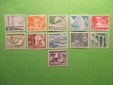 Switzerland 1949 Landscapes  stamps. MNH.
