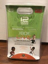 XBOX Live Gold Subscription Card 360 12 Months 1 Year