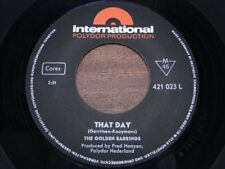 GOLDEN EARRINGS [Golden Earring] ~ That Day ~ NR MINT ~ 1965 GERMANY POLYDOR INT