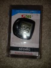Sunding LCD Wired Bike Computer Bicycle Speedometer Cycling Speed Stopwatch Z4B7