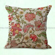 US SELLER-retro vintage floral cushion cover decorative throw pillow covers