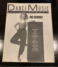 DANCE MUSIC REPORT Nu Shooz Volume 9 Issue 3 1986'