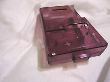 purple Model A Raspberry Pi  Raspi Pi case with heat sinks good for projects