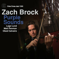 Zach Brock : Purple Sounds CD (2014) ***NEW*** FREE Shipping, Save £s