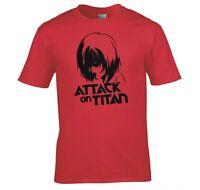 "ATTACK ON TITAN, ANIME ""ANNIE LEONHART""  T SHIRT NEW"
