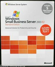 Microsoft Windows Small Business Server SBS 2003 R2 Standard Edition T72-01411