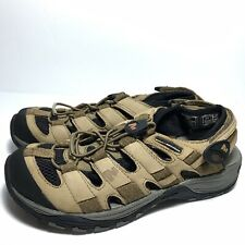 Merrell Continuum Kangaroo Men Hiking Trail Shoes Sandals Sz 7 Vibram Brown