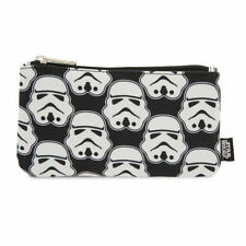 New Loungefly Starwars Storm Trooper Pencil Case Coins Cosmetic Case