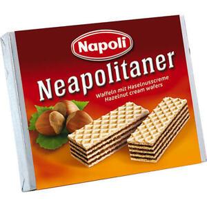 Napoli Neapolitaner Waffeln mit Haselnusscreme 48x65 g Pg.