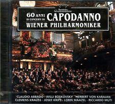 WIENER PHILHARMONIKER THE BEST 60 ANNI DI CONCERTI DI CAPODANNO DOPPIO CD SEALED