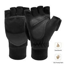 For Men Women Mittens Flip Fingerless Gloves Photography Fishing Windproof Mitts
