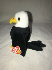 """TY, ORIGINAL BEANIE BABY, """"BALDY""""  THE EAGLE 1996 PVC RETIRED 4TH GENERATION"""