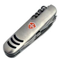 5x 12in1: Multifunktions- Taschenmesser | Jagdmesser | Edelstahl Klapmesser