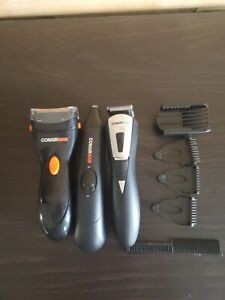 Lot Of 3 Conairman Shaving/Trimming Kit With Accessories