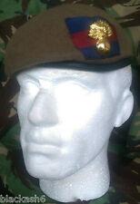 Grenadier Guards Beret & Brass Cap Badge 62