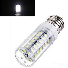 White E27 2400LM 15W 48-LED 5730 SMD 220V  Light High Bright Corn Bulb Lamp