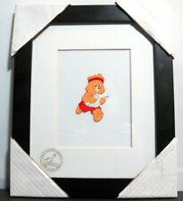 Care Bears Nelvana Animation Cel Framed Art New Hand Painted Limited Htf Vtg 80s