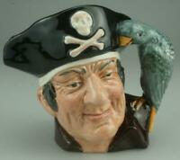 Small Size Royal Doulton Toby Jug D6386 Long John Silver