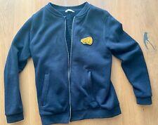 Sportliche Herbstjacke Mango 164 mit wärmendem Teddyfutter blau