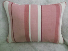"HUGE MULTI BUY SAVINGS ON AWNING STRIPE BY LAURA ASHLEY OBLONG CUSHION 20""X14"""