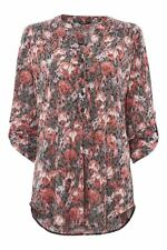 Women's Polyester Floral Tops & Shirts ,no Multipack