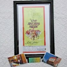 "SHIRLEY JONES AUTOGRAPH. ""THE MUSIC MAN"" POSTER. PROFESSIONALLY FRAMED. PHOTOS."