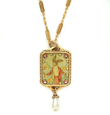 New John Wind MAXIMAL ART Easter Bunny Gold Necklace Jewelry