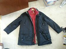 Andrew Marc Down fill Men's Great Jacket Real Fur Hood Trim & Vest size XL TG